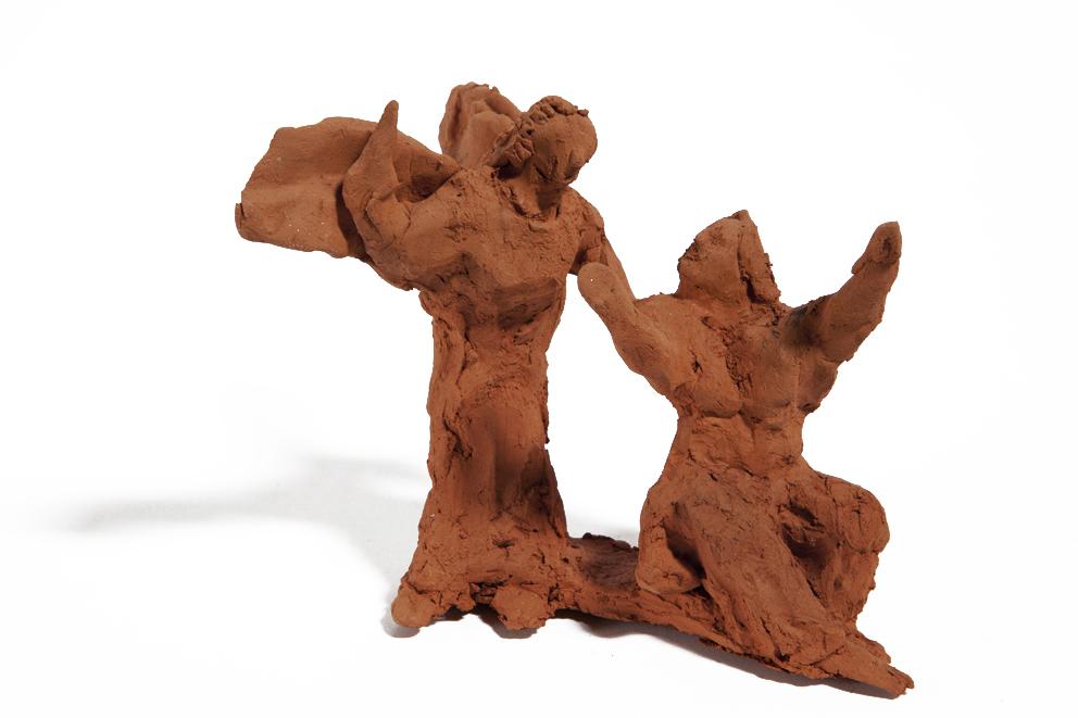 Annunciazione ok - 2011 - terracotta