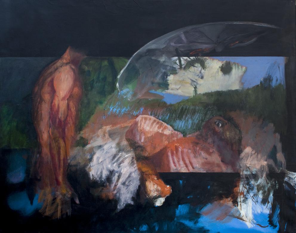 Mattatoio - olio - 1978 (150x190cm)